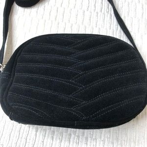Urban Outfitters Bags - Urban Outfitters Crossbody Bag - Black Suede